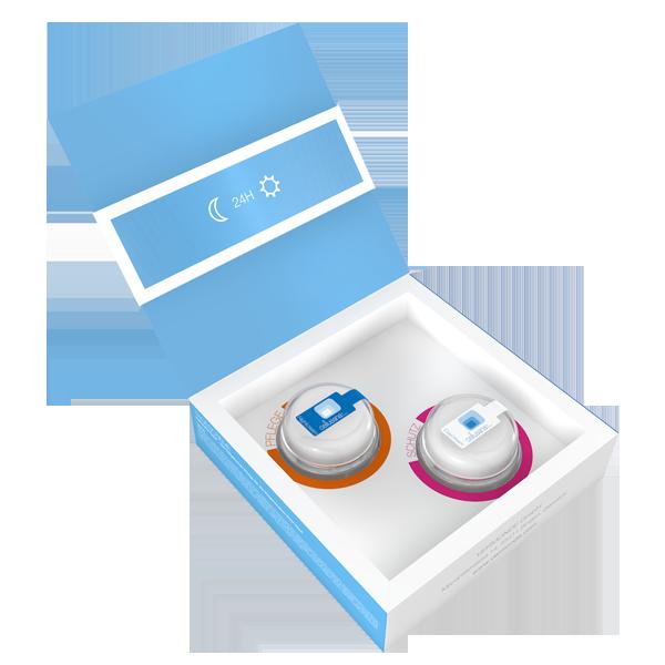 Cellusana Probetiegel Set Box