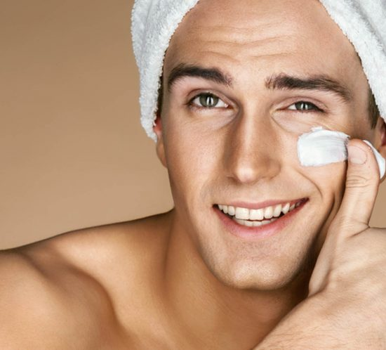 Anti-Aging für Männerhaut