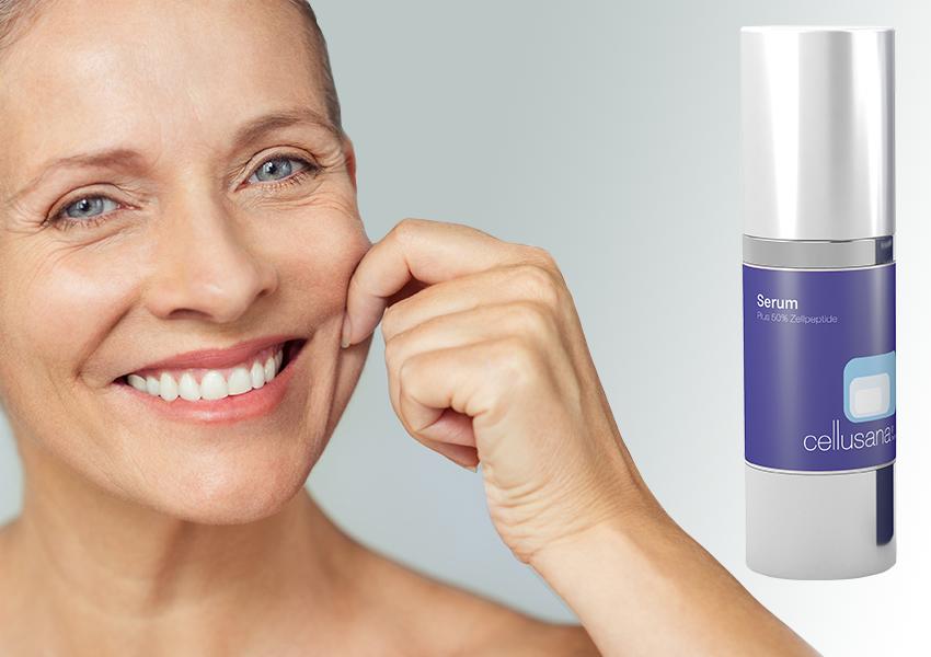 Haut-Erlebnis-Serum-Seite-Frau-zupft-Wange2
